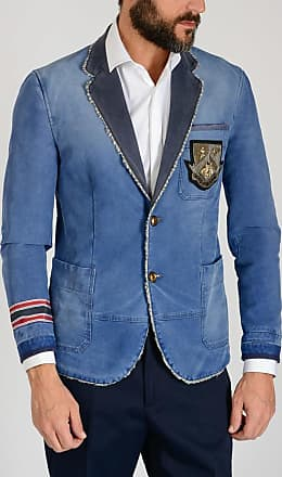 Gucci Stretch Cotton Embroidered Jacket size 46