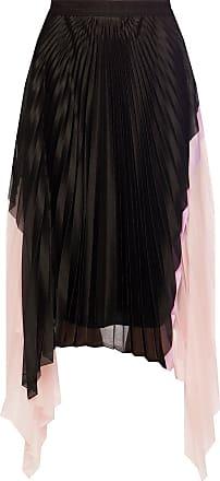 Iceberg Pleated Skirt Womens Black