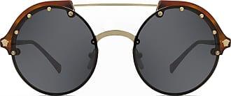 Metálico Óculos De Sol Aviadores  Compre a R  109,90+   Stylight 0bbf11ded9