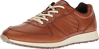 Ecco Womens Womens Sneak Retro Tie Fashion Sneaker, Amber, 36 EU / 5-5.5 US