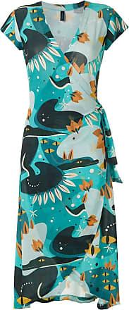 Lygia & Nanny Falcão Jerseykleid mit Print - Blau