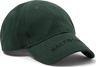 f7dbe2a8 Balenciaga Logo-embroidered Cotton-twill Baseball Cap - Green
