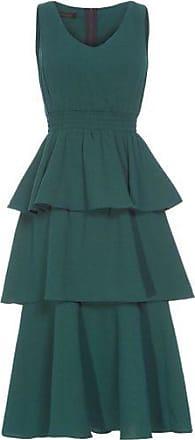 NICA KESSLER Vestido Camadas B&W Nica Kessler - Verde