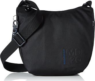 Mandarina Duck Womens Md20 Minuteria/Dress Blue Messenger Bags, Black, 10x21x28.5 cm (B x H x T)
