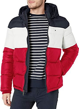 Chili Pepper Color Tommy Hilfiger Reversible Puffer Jacket Size Small