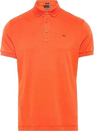 J.Lindeberg Stan Reg Fit Polo Shirt Man Röd