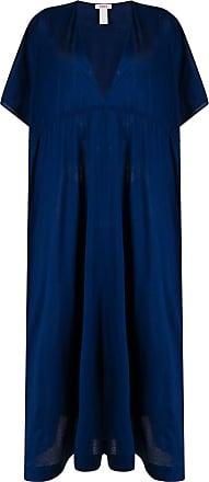 Eres Kleid aus Satin - Blau