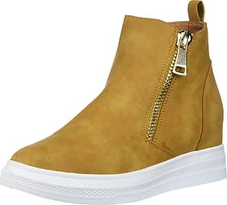 Yoki Womens demian-14 Sneaker, Camel, 8 UK