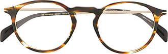 David Beckham Óculos de sol redondo 1003/G/CS - Marrom