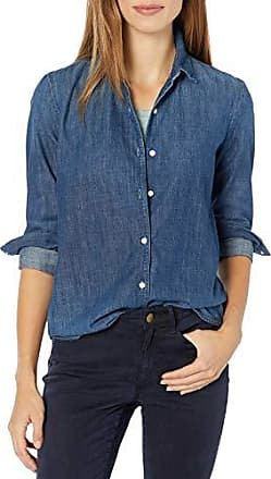 AG Adriano Goldschmied Womens Acoustic Chambray Button Up Shirt