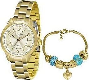 Lince Kit Relógio Feminino Lince LRG4504L KU49 - Dourado