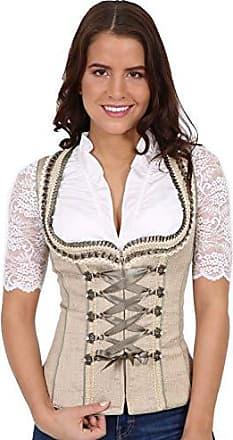 Krüger Fashion Queen Artikelnummer: 33542-41 Damen Trachten Mieder in Grau