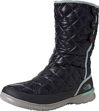 2107478fee The North Face Thermoball Button-up Insulated, Bottes de Neige Femme, Noir (