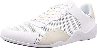 Lacoste Mens 739CMA0066042_43 Sneaker, White, 9.5 UK