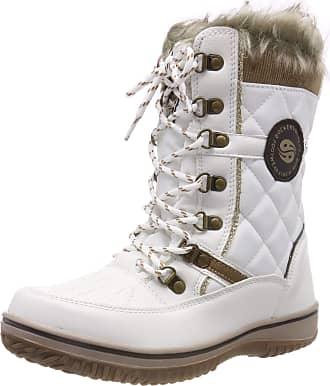 Dockers by Gerli Womens 43ta302 Snow Boots, White (Ice 260), 4.5 UK