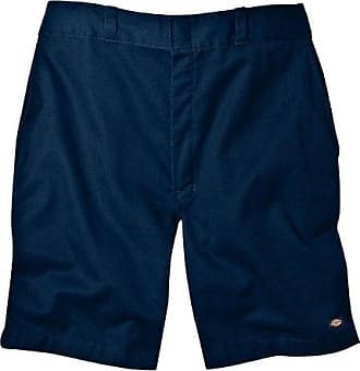 Dickies Mens 8 Inch Relaxed Fit Traditional Flat Front Short, Dark Navy, 38