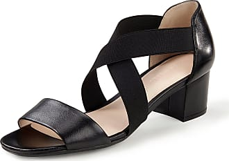 Gerry Weber Sandals Faro wide, crossed elasticated straps Gerry Weber black