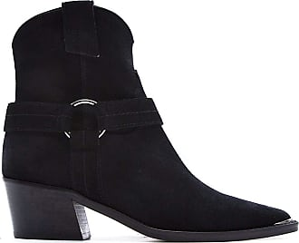 Via Roma 15 Fashion Woman 3344VELOURNERO Black Suede Ankle Boots | Spring Summer 20