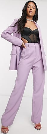 4th & Reckless Pantalon de tailleur large - Lilas-Violet