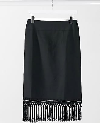 4th & Reckless 4th & Reckless mini skirt co-ord with tassles in black