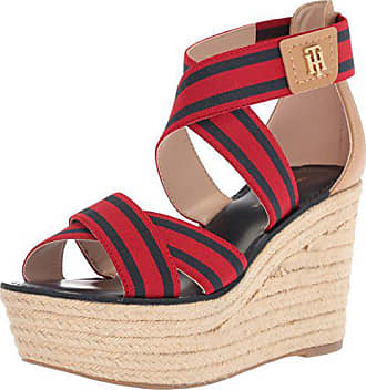 acdf5cb6bdc Tommy Hilfiger Womens Theia Espadrille Wedge Sandal