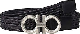 Salvatore Ferragamo Sized Belt - 67A050 (Black) Mens Belts