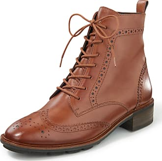 Paul Green Ankle boots made of calf nappa leather Paul Green brown