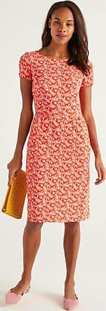 Boden Phoebe Jerseykleid Orange Damen Boden