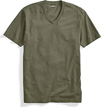 Goodthreads Mens The Perfect V-Neck T-Shirt Short-Sleeve Cotton, Olive, X-Large