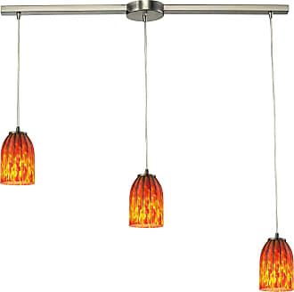 Elk Lighting 3 Light 10335 Linear Pendant - 10335/3L