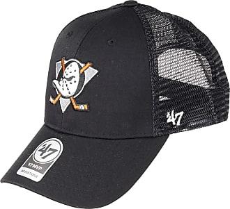 47 Brand 47 NHL Anaheim Ducks Branson MVP Trucker Cap - Cotton Mesh Trucker Unisex Baseball Cap Premium Quality Design and Craftsmanship by Generational Family