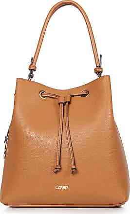 L.Credi Handbag in casual bucket bag style L. Credi brown