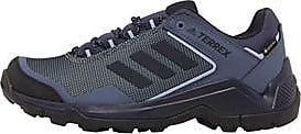 adidas lace up low profile hiking shoes with GORE-TEX lining to keep your feet dry and comfortable in any weather. The Traxion outsole offers maximum grip on
