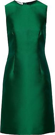 Oscar De La Renta Oscar De La Renta Woman Duchesse-satin Dress Green Size 10