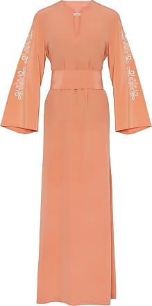 The Crocale Reina Silk Kaftan Dress