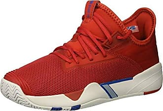 K-Swiss Mens SI-2018 Sneaker, high Risk red/White/Strong Blue, 6.5 M US