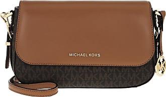 Michael Kors Bedford Legacy LG Flap Xbody Brown/Acorn Umhängetasche braun