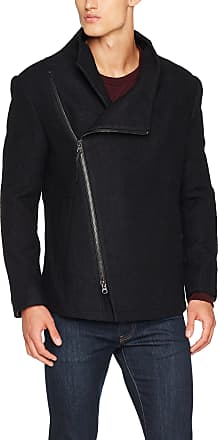 Religion Mens Sloth Coat, Black (Black Boucle), Large