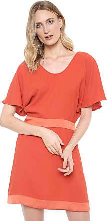 Ana Hickmann Vestido Ana Hickmann Curto Color Vermelho