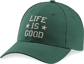 a254379ae3249 Life is good LIG Star Stack High Rise Cap OS Forest Green