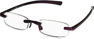 Peepers Unisex-Adult Clearly 2389200 Oval Reading Glasses, Purple, 2.5