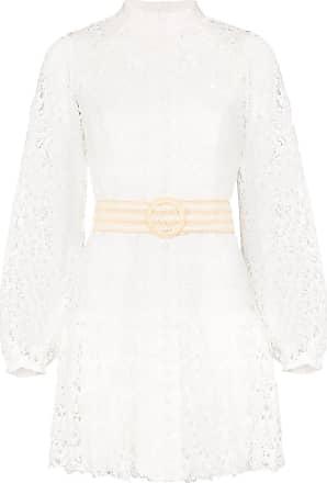 Zimmermann Super Eight Minikleid - Weiß
