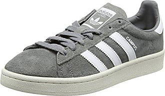 Three Footwear White40 2 Basses 3 Chalk HommeGrisGrey adidas CampusBaskets EU 3LjR54Aq