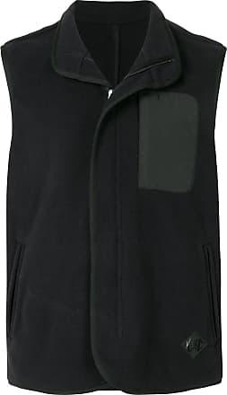 Kent & Curwen sleeveless zip up vest - Black