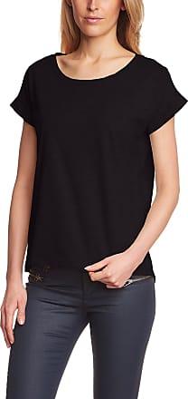 Vila Womens VIDREAMERS Pure T-Shirt, Black, Size 6 (Size:X-Small)