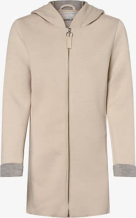 Only Damen Sweatjacke beige