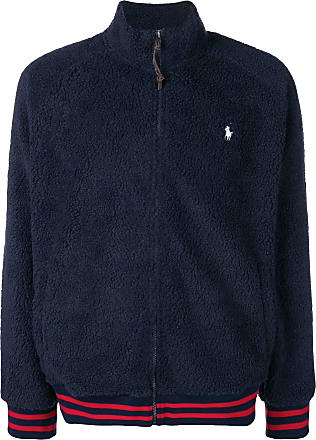 Polo Ralph Lauren faux-shearling jacket - 001 Navy