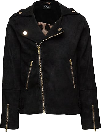 Petit by Sofie Schnoor Jacket Outerwear Jackets & Coats Leather Jacket Svart Petit By Sofie Schnoor