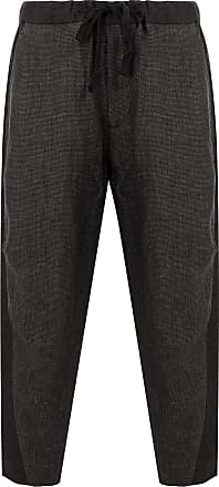 Ziggy Chen loose fit trousers - Black