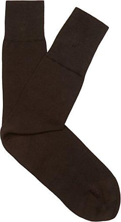 Falke Tiago Cotton-blend Socks - Mens - Brown
